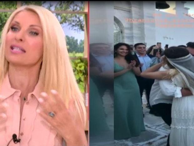 Ελένη: Τα πήρε με σχόλιο συνεργάτιδάς της για τον γάμο του Χρανιώτη