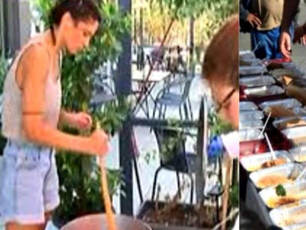 Η Συνατσάκη συγκινεί! Ετοιμάζει καθημερινά 1000 μερίδες φαγητού για τους πυρόπληκτους στο Μάτι!