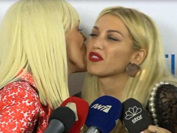Σπυροπούλου-Σταμάτη: Μετά την κόντρα τους, έδωσαν το φιλί του Ιούδα – Απίστευτες ατάκες on camera