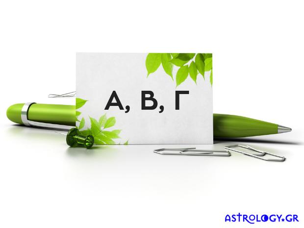 Το όνομά σου ξεκινά από Α, Β ή Γ; Μάθε τι δείχνει για σένα