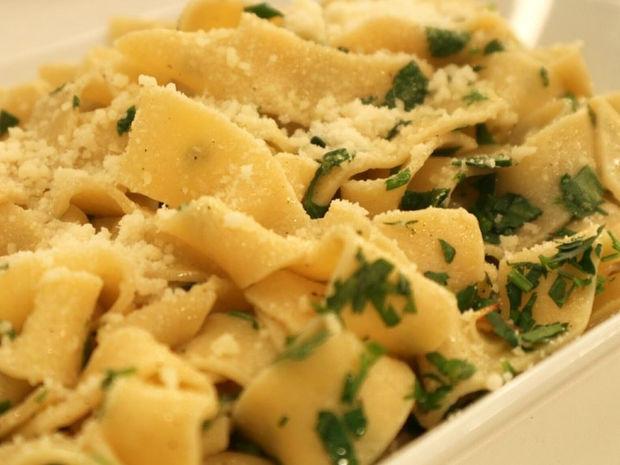 Ταλιατέλες aglio e olio