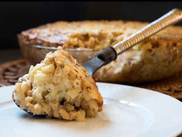 Mac 'n' Cheese με κιμά από τον Γιώργο Τσούλη