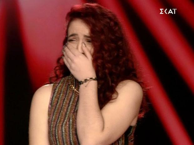 «The Voice»: Λύγισε on air η παίκτρια- Δείτε τι συνέβη