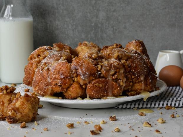 Συνταγή για monkey bread (Ψωμί της μαϊμούς) από τον Γιώργο Τσούλη
