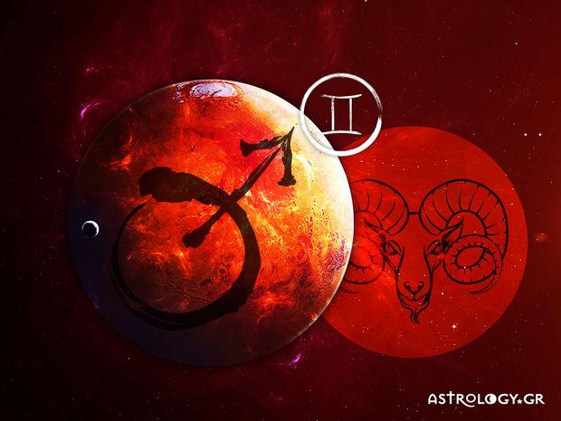 Άρης στον Κριό: Πώς επηρεάζει το ζώδιο των Διδύμων;