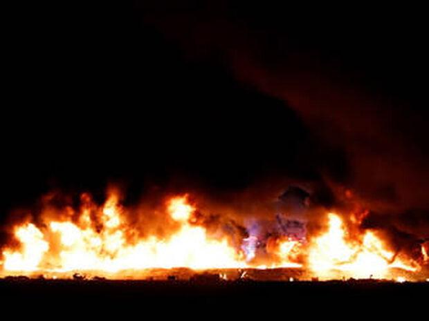 Παρανάλωμα πυρός: Καρέ – καρέ η στιγμή της έκρηξης στο Μεξικό που σκόρπισε το θάνατο (ΣΚΛΗΡΟ ΒΙΝΤΕΟ)