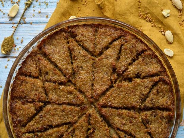 Kibbeh pie