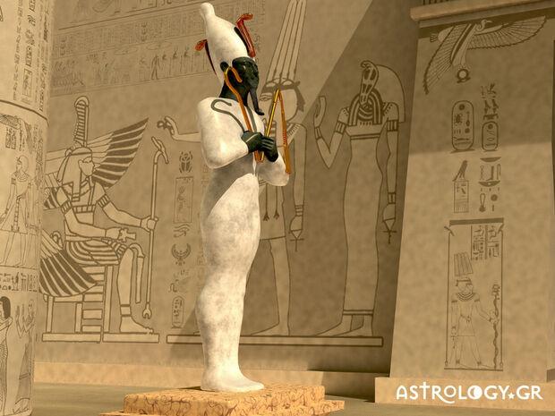 Πότε πρέπει να έχεις γεννηθεί, για να είσαι ο Όσιρις  στο Αιγυπτιακό ωροσκόπιο;