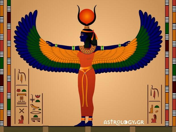 Πότε πρέπει να έχεις γεννηθεί, για να είσαι η Ίσιδα  στο Αιγυπτιακό ωροσκόπιο;