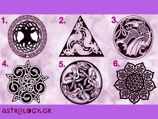 Διάλεξε το Κέλτικο σύμβολο που σου τράβηξε την προσοχή και δες τι κρύβει για σένα!
