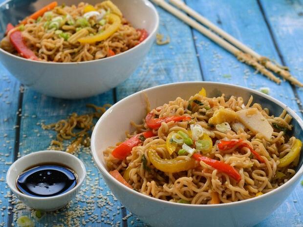 Σπιτικά noodles