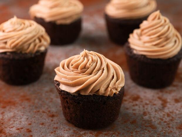 Cupcakes με σοκολάτα