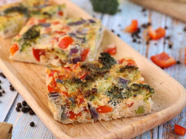 Ομελέτα φούρνου με λαχανικά του Γιώργου Τσούλη
