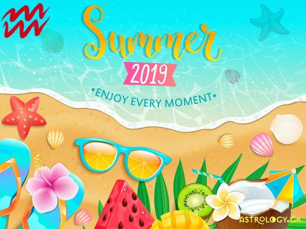 Καλοκαίρι 2019: Υδροχόε, πόσο τυχερός θα είσαι στα ερωτικά και τα οικονομικά σου;