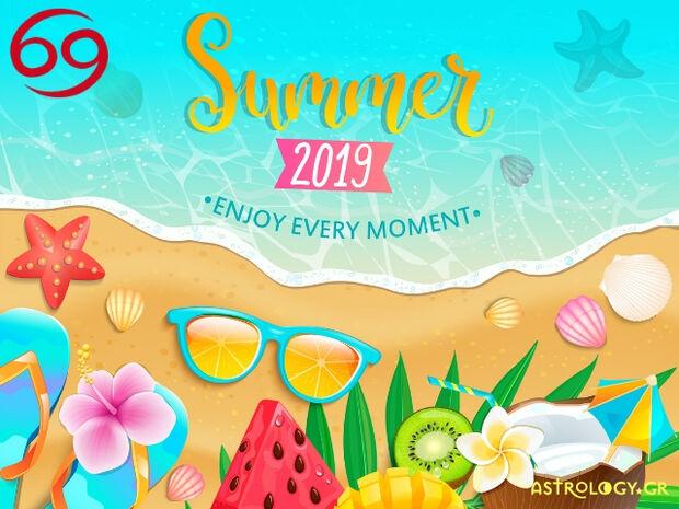 Καλοκαίρι 2019: Καρκίνε, πόσο τυχερός θα είσαι στα ερωτικά και τα οικονομικά σου;