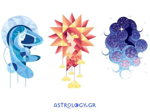 Ήλιος, Σελήνη ή Αστέρια; Ένα από αυτά αποκαλύπτει κάτι σημαντικό για το Κάρμα σου
