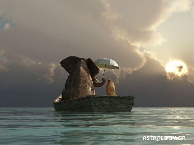 Ζώδια Σήμερα 18/07: Με βάρκα την ελπίδα