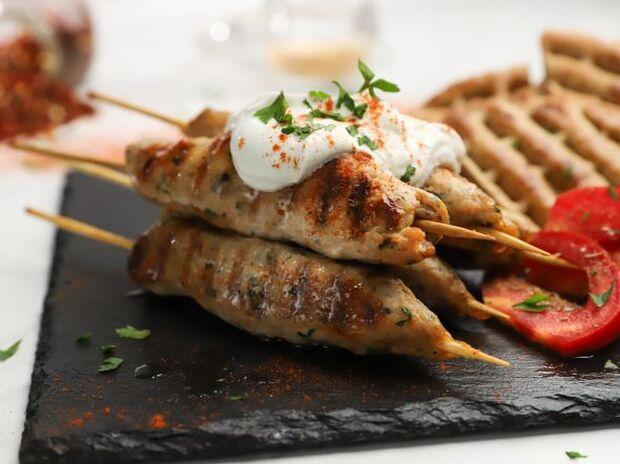 Kebab κοτόπουλο