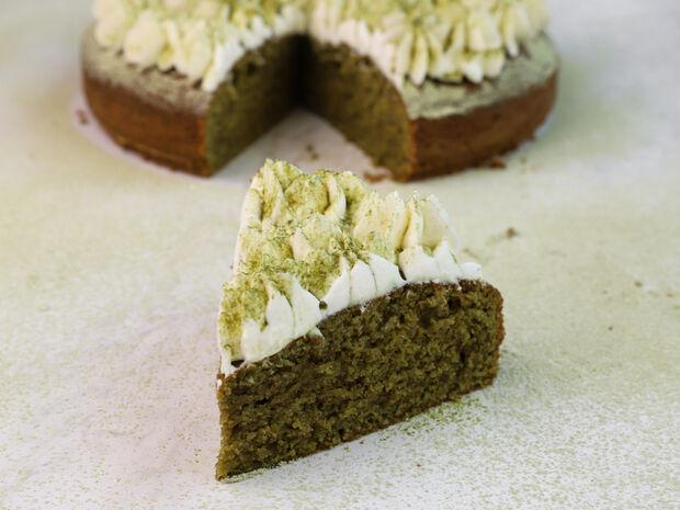 Κέικ με matcha