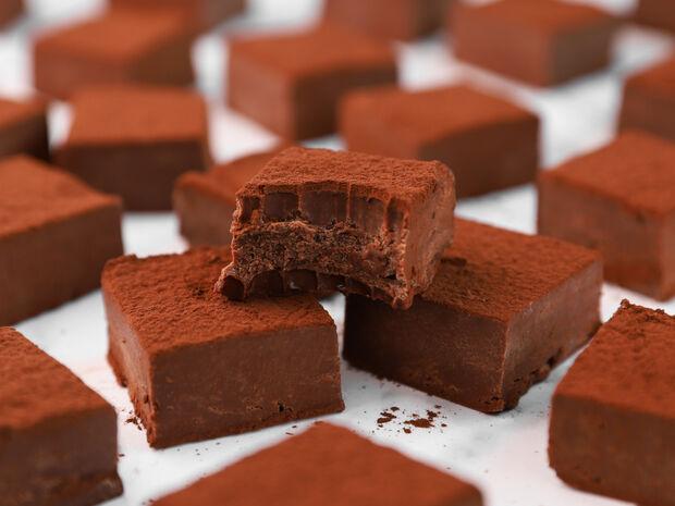 Σοκολατένια fudge
