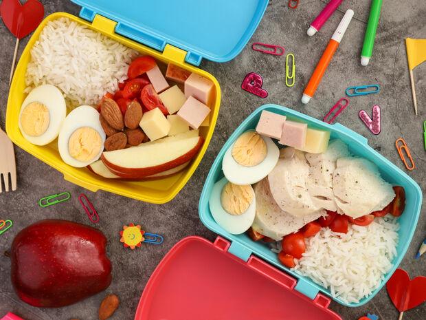 Lunch box με κοτόπουλο και αυγό