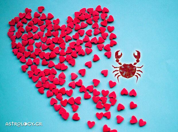 Καρκίνε, τι δείχνουν τα άστρα για τα ερωτικά σου την εβδομάδα 23/09 έως 29/09