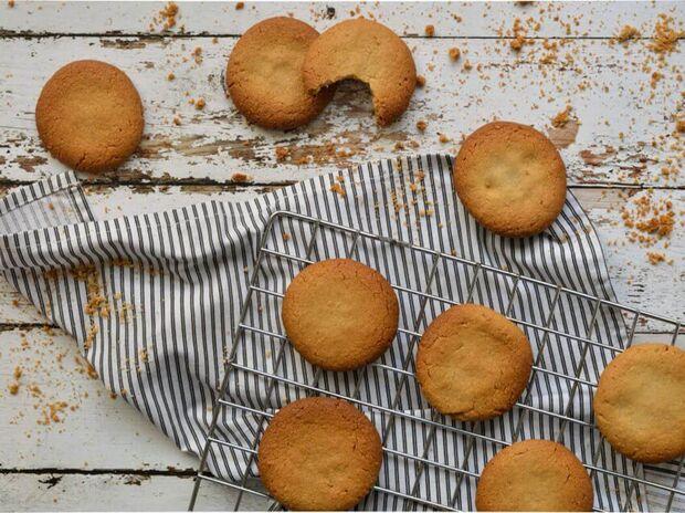 Γρήγορα μπισκότα με ταχίνι