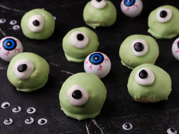 Halloween μάτια