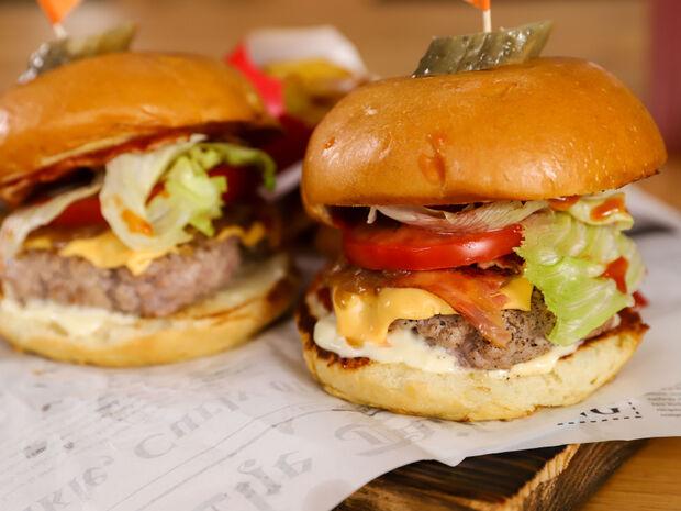 Μοσχαρίσια burgers
