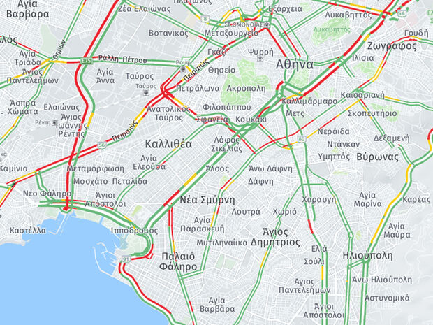 TΩΡΑ: Κυκλοφοριακό χάος στον Πειραιά – Σε απόγνωση οι οδηγοί