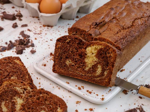 Κέικ βανίλια-σοκολάτα