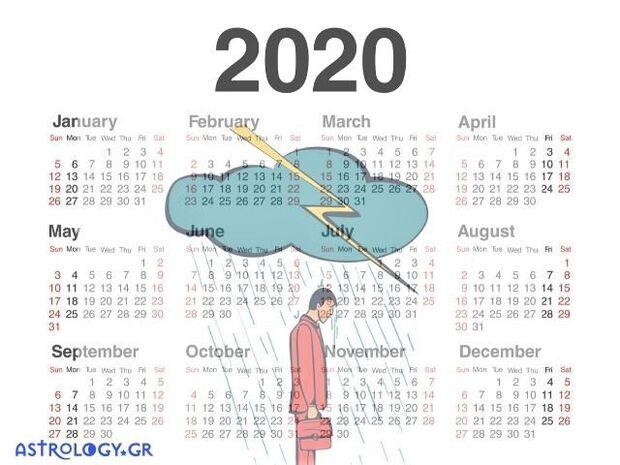 Αυτός είναι ο χειρότερος μήνας του ζωδίου σου για το 2020!
