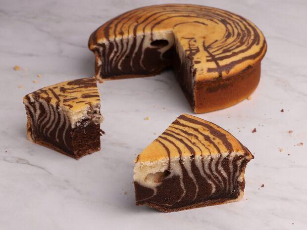 Zebra κέικ