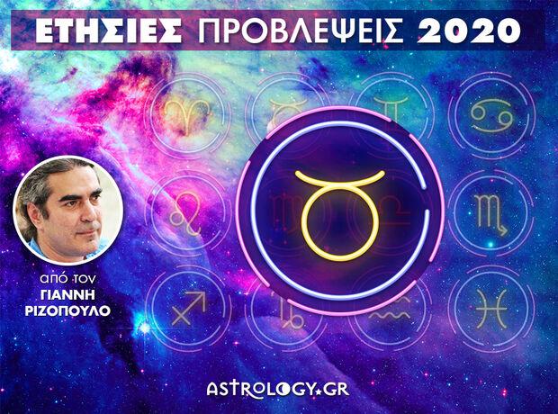 Ταύρος 2020: Ετήσιες Προβλέψεις από τον Γιάννη Ριζόπουλο