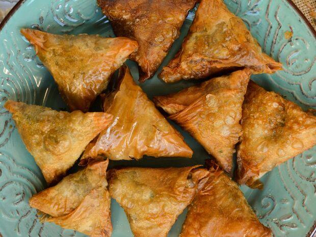 Συνταγή για γρήγορα μανιταροπιτάκια από τον Γιώργο Τσούλη