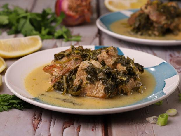 Συνταγή για χοιρινό με σέλινο από τον Γιώργο Τσούλη