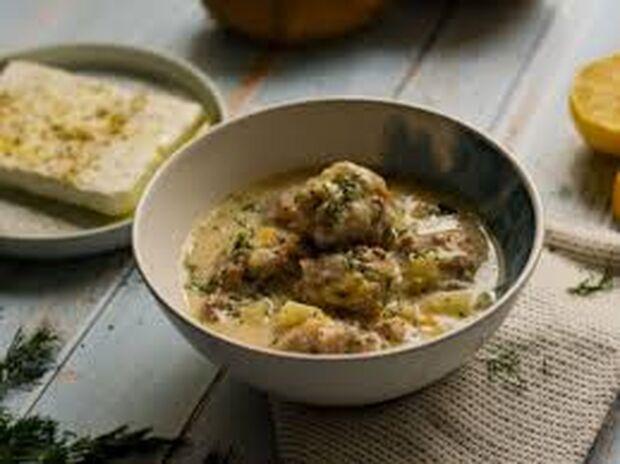 Συνταγή για γιουβαρλάκια αυγολέμονο από τον Γιώργο Τσούλη