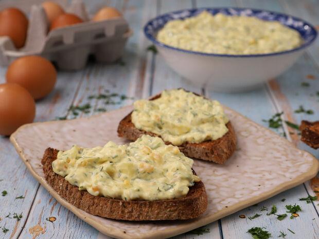 Συνταγή για αυγοσαλάτα από τον Γιώργο Τσούλη