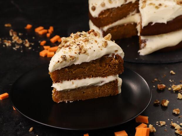 Συνταγή για κέικ γλυκοπατάτας από τον Γιώργο Τσούλη