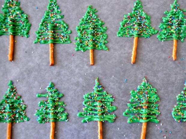 Ιδέες για χριστουγεννιάτικα γλυκά (pics)