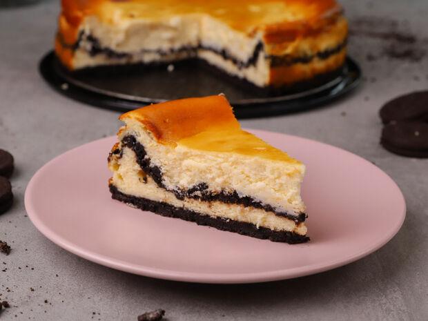 Oreo cheesecake από τον Γιώργο Τσούλη
