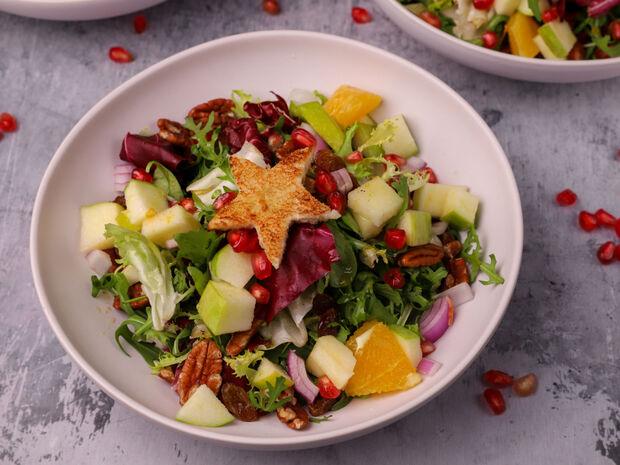 Συνταγή για γιορτινή σαλάτα από τον Γιώργο Τσούλη