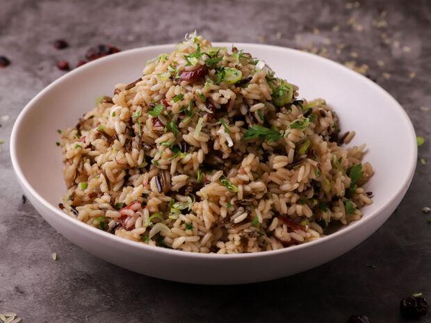 Συνταγή για Χριστουγεννιάτικο ρύζι από τον Γιώργο Τσούλη
