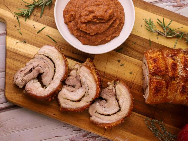 Συνταγή για πορτσέτα από τον Γιώργο Τσούλη