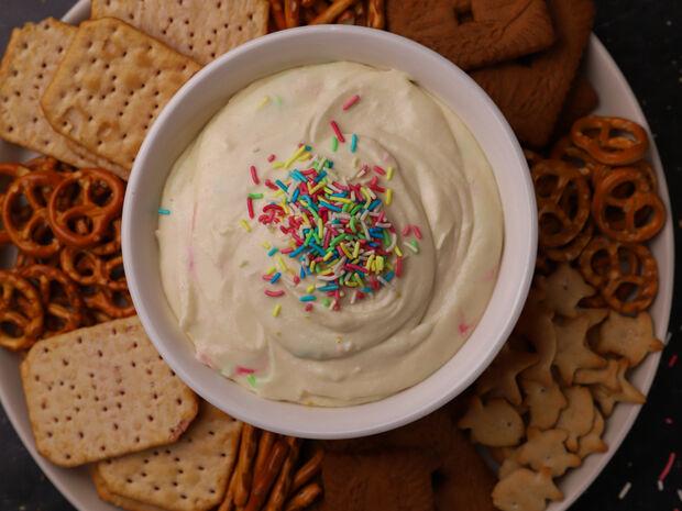 Χριστουγεννιάτικο dip για μπισκότα από τον Γιώργο Τσούλη