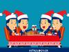 Τα 12 ζώδια και τα ευτράπελα στο Χριστουγεννιάτικο τραπέζι