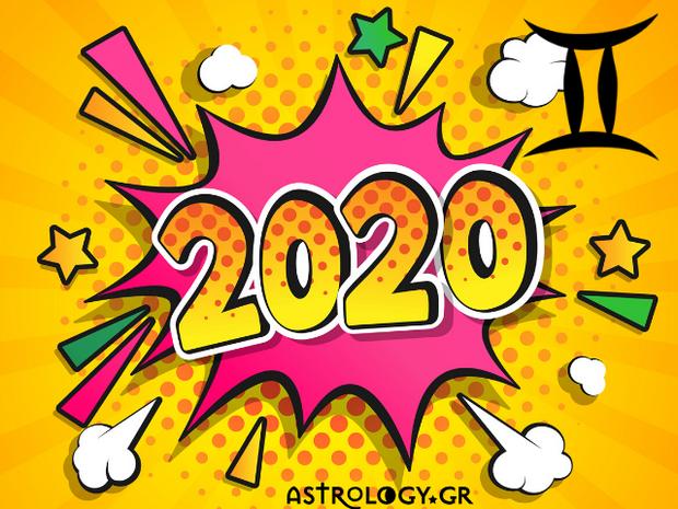 Δίδυμε, δες στο βίντεο την ετήσια πρόβλεψή σου για το 2020