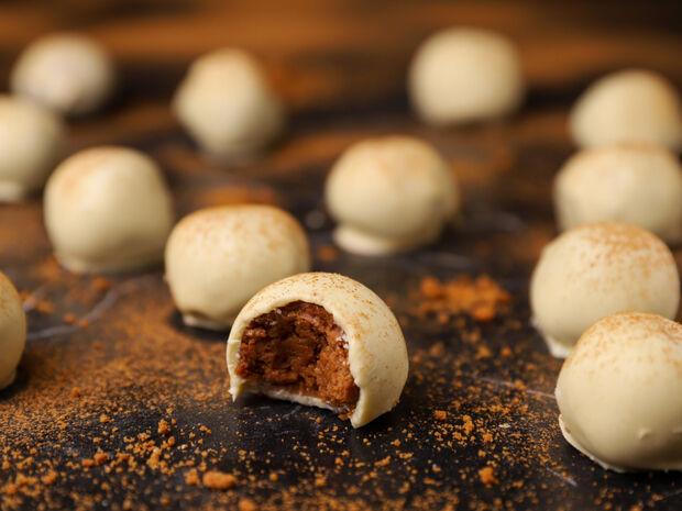 Συνταγή για τρουφάκια με μπισκότα κανέλας και τζίντζερ από τον Γιώργο Τσούλη