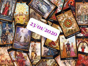 Δες τι προβλέπουν τα Ταρώ για σένα, σήμερα 23/01!