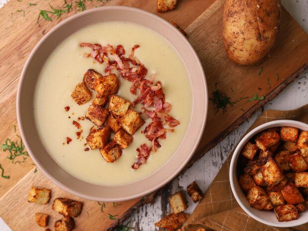 Πατατόσουπα βελουτέ